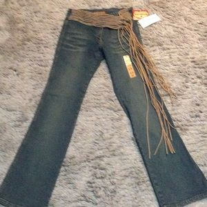 NWT 5/6 Hippie style jeans
